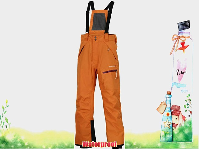 Didriksons Blair Youth Childrens Boys Girls Kids Waterproof Ski Pants / Salopettes / Trousers