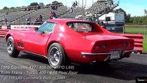 $1 Million Burnout ? Ultra Rare 427 L88 Corvette 1/4 Mile Drag Race Video - Road Test TV