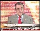 """Correa """"no tiene el tamaño de Alfaro"""", dice Enrique Ayala Mora"""