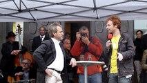 Volksversammlung Stuttgart - Hannes Rockenbauch, Jo Frühwirth
