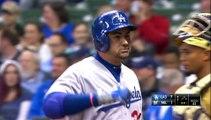 HomeRun (9) de Adrian Gonzalez de Dodgers de Los Angeles