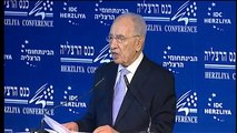 H.E. Shimon Peres, President of the state of Israel, Speaking at the 12th Annual Herzliya Conference