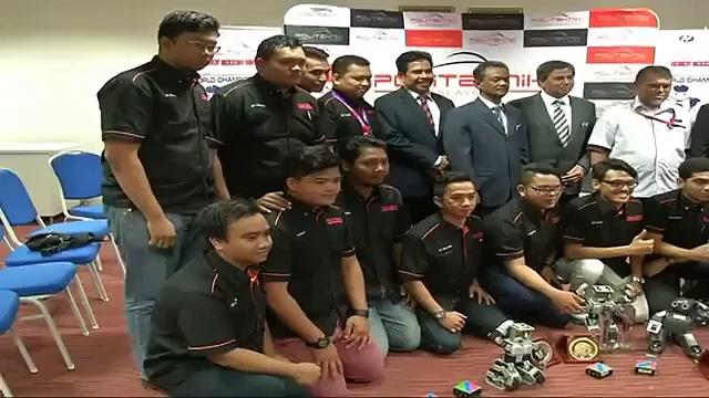 19th Fira Roboworld Cup Beijing | Malaysia Wins Robot Soccer World Cup