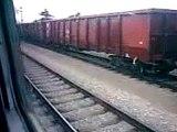 Il treno regionale Trieste Udine arriva alla stazione di Udine