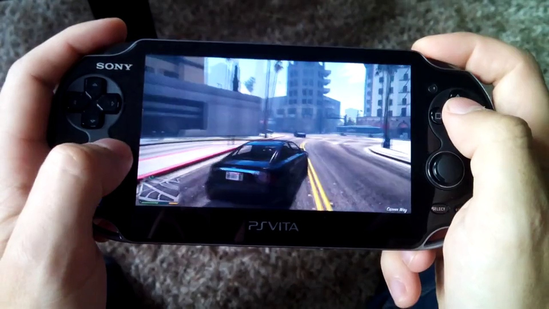 GTA 5 - PS Vita Gameplay