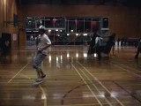 bboy dandan - Training basic footwork 1
