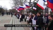 Femen protest in Crimea - no comment