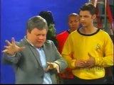 Star Trek Trailer (Spoof): William Shatner shows Chris Pine how to be Captain James T. Kirk