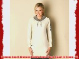 Womens Bench Womens Double Funnel Neck Sweat in Cream - 14