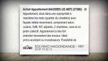 A vendre - appartement - MAIZIERES LES METZ (57280) - 3 pièces - 55m²