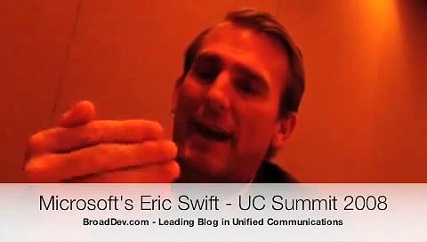 Eric Swift Microsoft Unified Communications