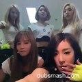 150705 KPOP IDOL DUBSMASH - SNSD (Yoona, Sooyoung, Taeyeon, Tiffany, Yuri)