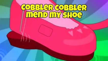 Cobbler Cobbler Mend My Shoe