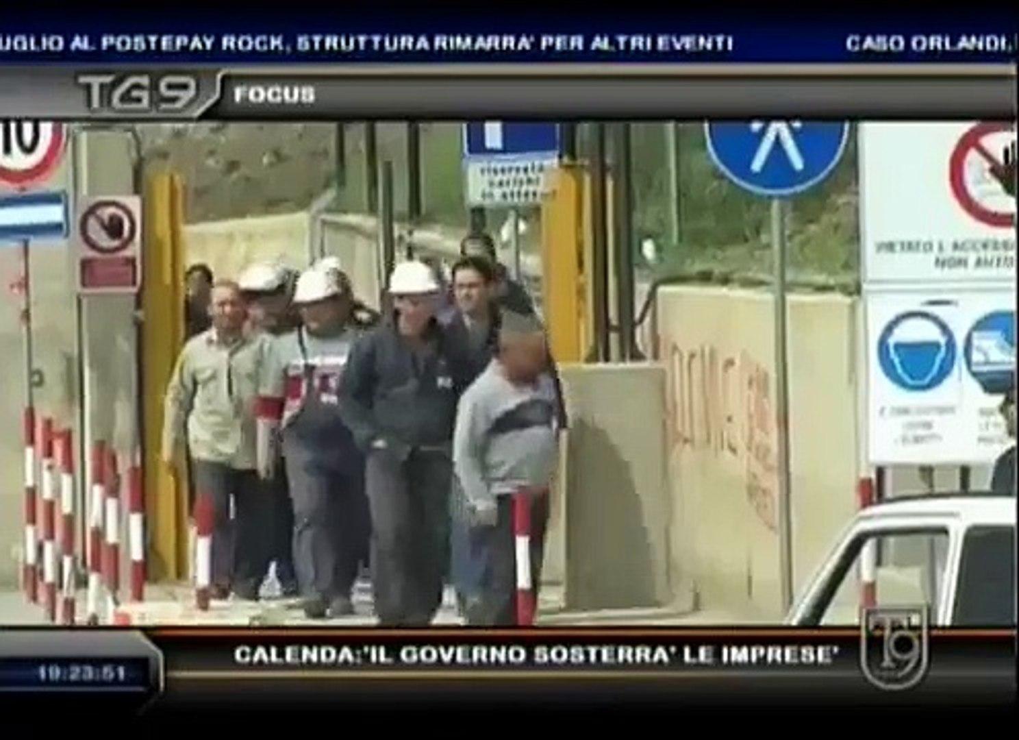 Crisi, al Tg9 Carlo Calenda, viceministro dello Sviluppo economico. L'intervista di Andrea Pica