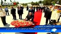 Algérie - Bouteflika se recueille à la mémoire des martyrs au cimetière d'El-Alia