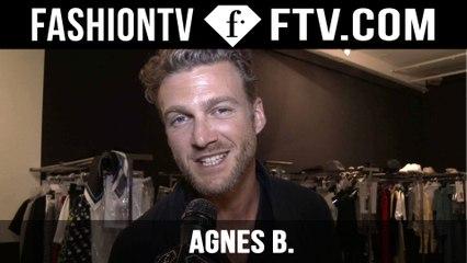 Agnes B. Backstage Spring/Summer 2016 | Paris Men's Fashion Week | FashionTV