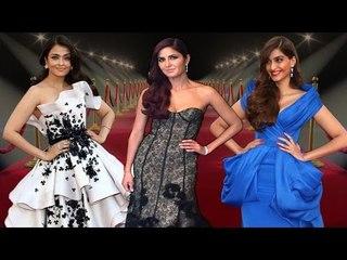 CANNES 2015 : Aishwarya Rai Bachchan, Katrina Kaif & Sonam Kapoor ROCK the Red Carpet