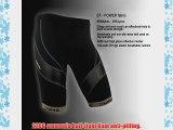 Santic New Cycling Men's Shorts Biking Bicycle Bike Pants Red Half Pants 4D COOLMAX Padded