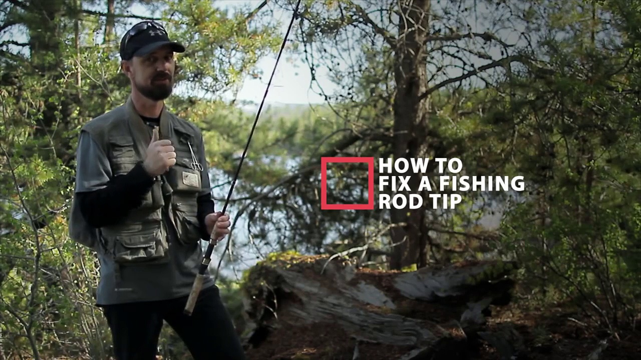 How To Fix A Fishing Rod – Replacing A Rod Tip
