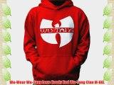 Wu-Wear Wu-Tang Logo Hoody Red Wu-Tang Clan M-XXL