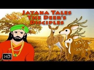 Jataka Tales - Short Stories For Children - The Deer's Disciples - Animated Cartoon/Kids