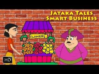 Jataka Tales - Short Stories for Children - Smart Business - Animated Cartoons/Kids