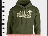 iClobber Evolution Carp Fishing Men's Hoodie Hoody Funny Carping Fish Sweatshirt Carper - X