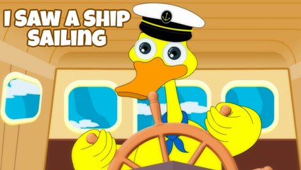 I Saw A Ship Sailing