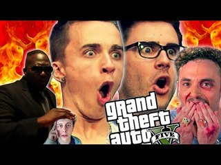 LES YOUTUBERS SUR GTA V ! SQUEEZIE, CYPRIEN.. #TUTOS