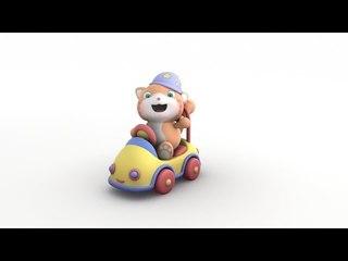 Looi's Ride-On Car - Looi Shorts for Kids