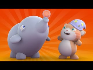 Looi the cat - water bubbles Elephant , for kids