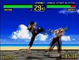Virtua Fighter Gameplay 1 (Sega Saturn)