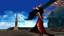 Dissidia 012 Final Fantasy Laguna Vs Ultimecia Battle Replay