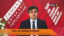YÖK Başkanı Prof.Dr. Gökhan Çetinsaya, Ortak Akıl Toplantısı'nı değerlendiriyor