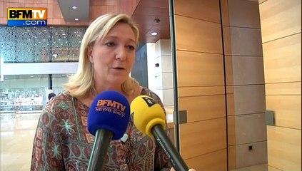 """""""Non"""" grec : pour Marine Le Pen, """"l'UE ne sera jamais plus comme avant"""""""