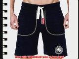 SMILODOX Men's Shorts SMILOHEADprint / Sweat Shorts Casual Home Wear / Training / Fitness /