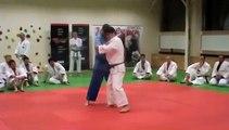 Judo - Uchi-mata (one step entry) demonstrated by Kosei Inoue (JPN)
