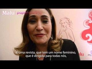 Sônia Abrão manda um recado exclusivo para as leitoras de Malu!