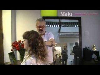 Mauro Freire faz transformação em leitora da Malu
