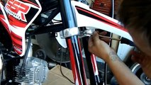 SSR PIT BIKES SR125TR PIT BIKE DIRT BIKE ASSEMBLY and MAINTENANCE CHEAP PIT BIKES FOR SALE