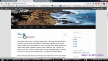 Create a Static Home Page (Front Page) with WordPress 3.5
