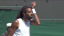Wimbledon 2015 - Super coup de Dustin Brown - trick shot tennis