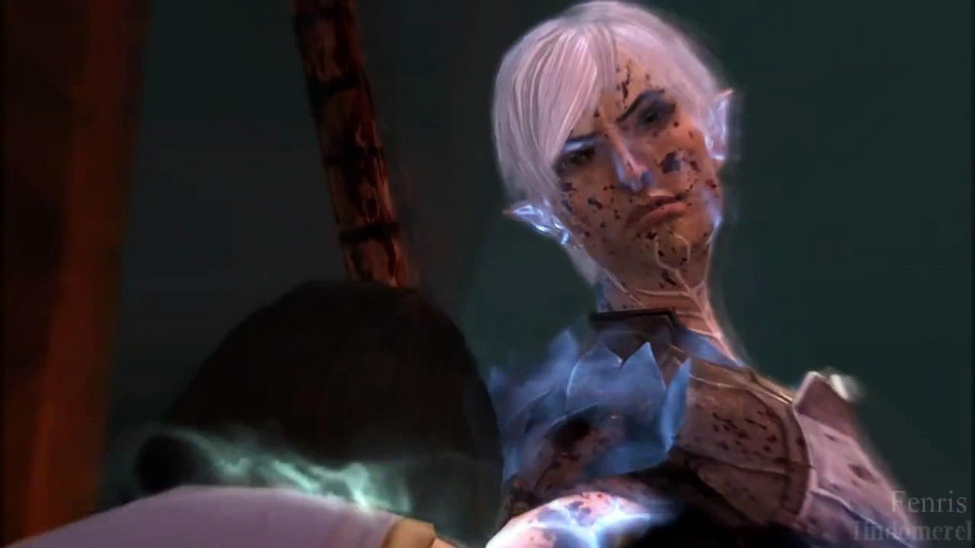 Spoilers Fenris Fan Video Dragon Age 2 Black Black Heart
