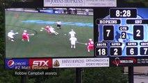 2012 NCAA Lacrosse First Round - Stony Brook vs Johns Hopkins Highlights