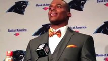 """Panthers' Cam Newton Talks Auburn Over Alabama, Says """"War Eagle"""" Over And Over"""