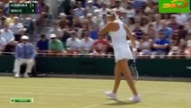 Victoria Azarenka vs Belinda Bencic Highlights Wimbledon 2015 R4