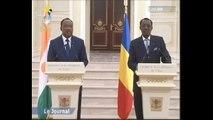 Conférence de presse conjointe d'Idriss Deby Itno et Mahamadou Issoufou