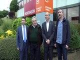 Mujica visitó la sede del Mondragón Unibertsitatea y Corporación Mondragón