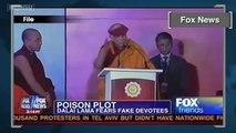 Dalai Lama Says Chinese Trying to Poison Him