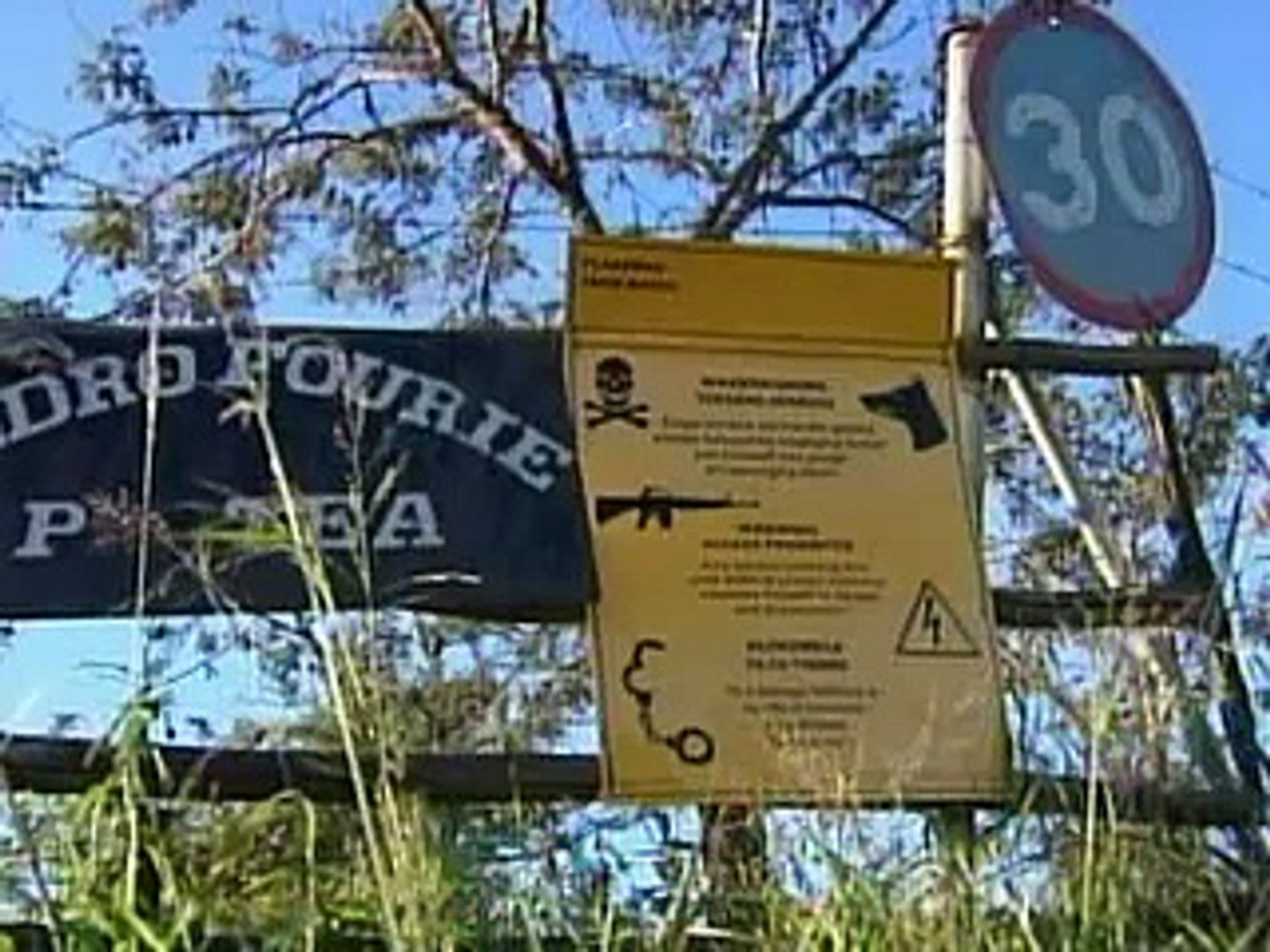 south african farm attacks in the news